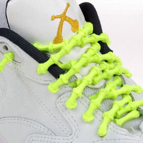 XTENEX Sport Laces 75cm neon yellow
